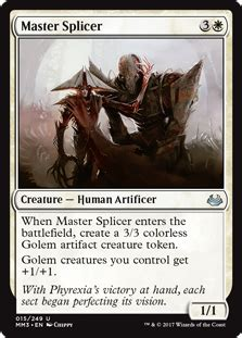 mtg golem token deck generic tribal riptide lab mtg cube draft forum