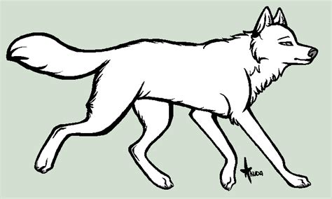 wolf template generic wolf template by stelliformed on deviantart