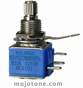 Bourns Model 82 500ka Guitar Potentiometer