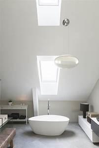 bien amenager une salle de bains sous les combles reve With salle de bain dans combles