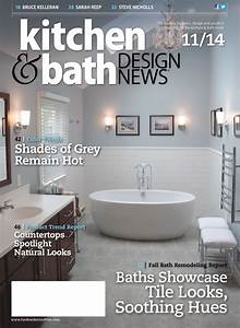 Kitchen and bath design news magazine affordable for Kitchen and bath design news
