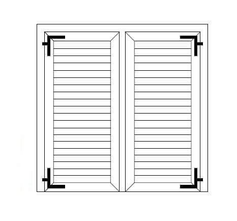finestre persiane produzione di persiane in pvc o alluminio per porte e finestre