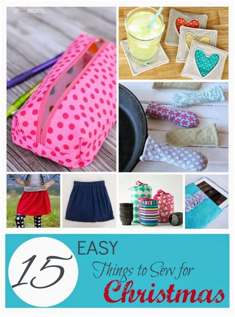 15 easy things to sew for christmas presents southern