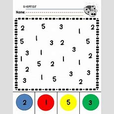 Number Recognition 05 Practice By The Little Apple Teacher Tpt