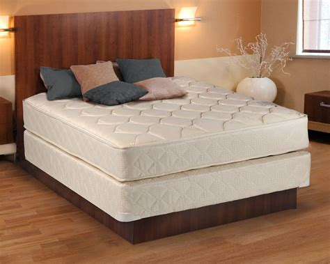 size mattress and box comfort classic gentle firm beige king size mattress and