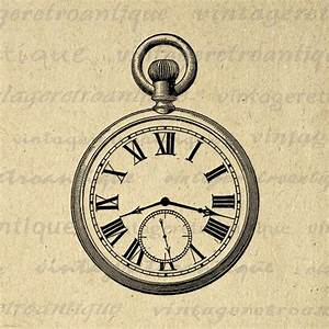 Old Fashioned Antique Pocket Watch Digital Image Download ...