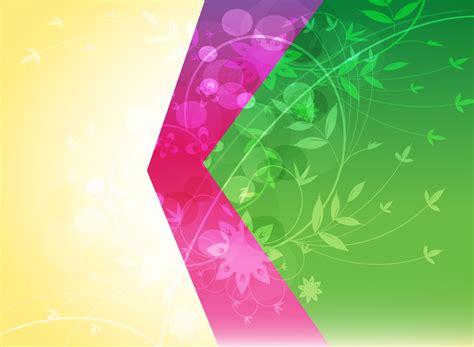floral backdrop vector