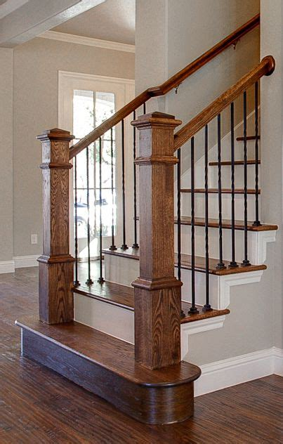 banister homes 25 best ideas about metal balusters on rod