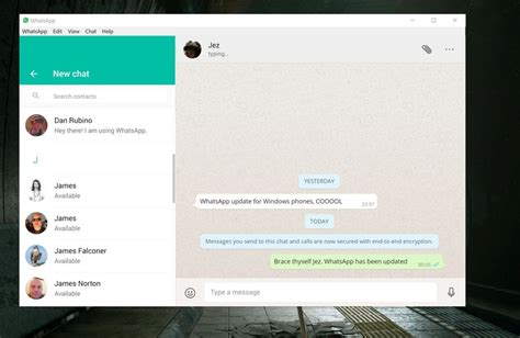 whatsapp desktop app could soon launch on the windows
