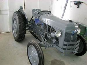 1946 Ford 2n Tractor After Restoration