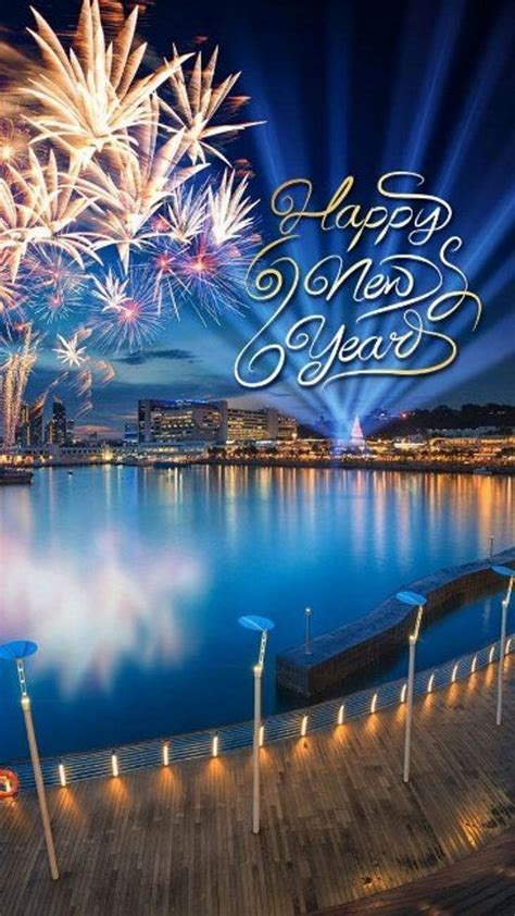 Download Iphone Wallpaper Happy New Year 2018 Full Size