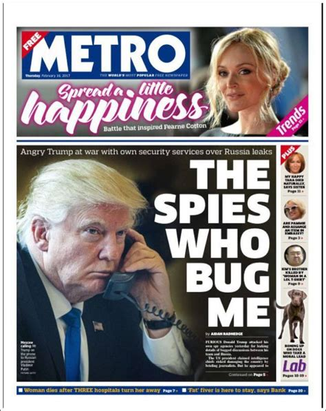 Newspaper Metro (United Kingdom). Newspapers in United ...