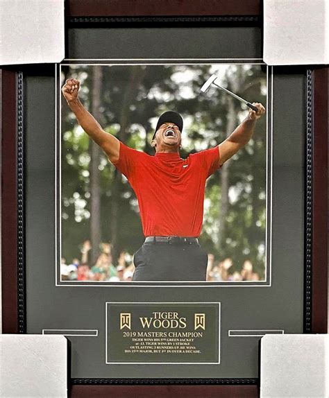 Tiger Woods 2019 The Masters 16x20 - KBK Sports