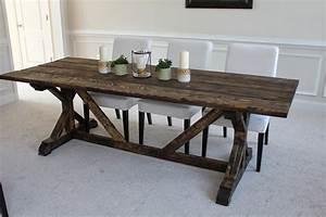 Holy I Built A Table Homevolution