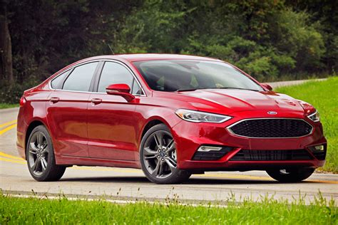 2017 Fusion Sport by Review 2017 Ford Fusion Sport
