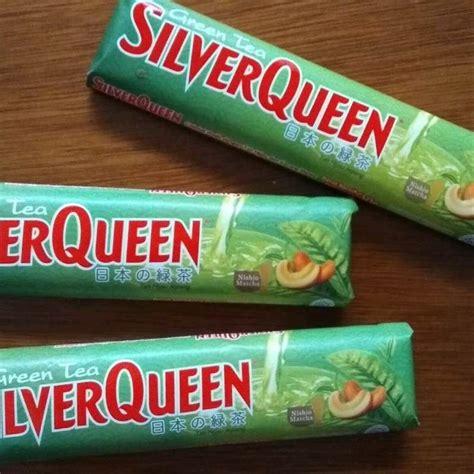 populer  gambar coklat silverqueen green tea