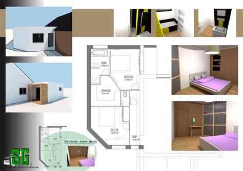 extension chambre projet extension maison récente sg plans morbihan vannes