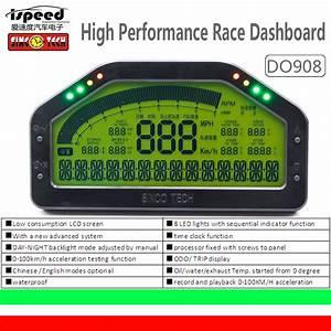 China Do908 Dash Race Display Sensor Kit  Dashboard Lcd