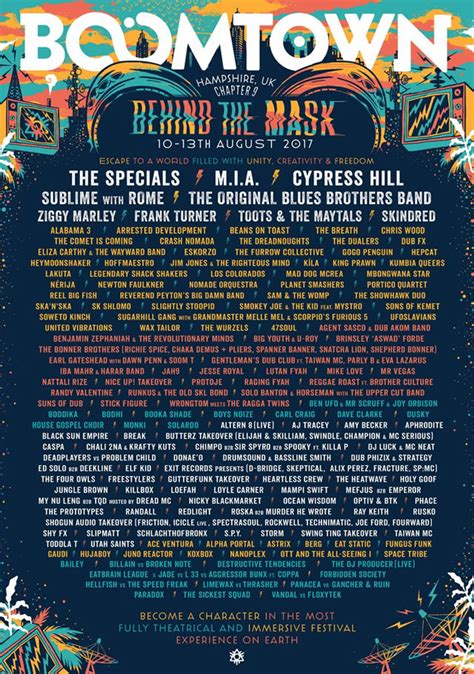 Boomtown 2017 Tickets, Line-up & More | Festivalmag