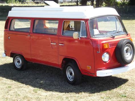 volkswagen van front 1974 volkswagen cer dorper conversion