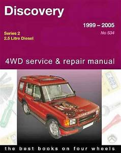 Land Rover Discovery 2 Diesel 1999 2005 Gregorys Service Repair Manual
