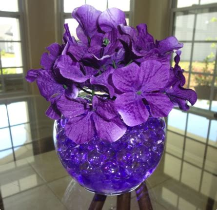 water beads design wedding centerpieces vases and more