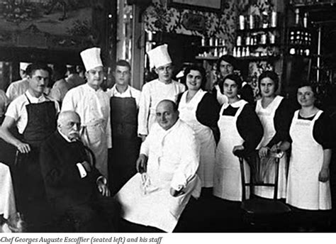 escoffier cuisine georges auguste escoffier king of chefs chef of