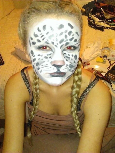 Snow Leopard Face Paint Drone Fest