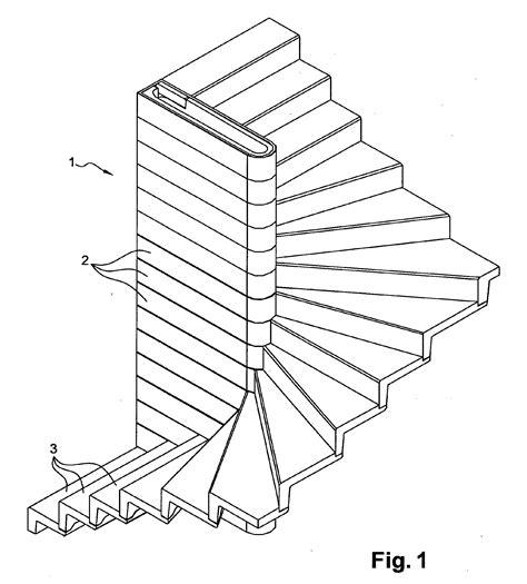 patent ep2363549b9 escalier de type balanc 233 224 mur porteur pr 233 fabriqu 233 en b 233 ton patents