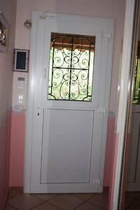 Porte D Entrée Vitrée Pvc : porte d 39 entr e vitr e sur mesure en pvc bouc bel air ~ Dailycaller-alerts.com Idées de Décoration