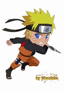 Chibi Uzumaki Naruto by Marcinha20 on DeviantArt