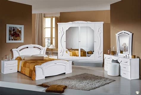 chambre a coucher blanc laqué ambra laque blanc ensemble chambre a coucher lignemeuble com