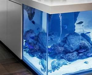 Wundervolles Kchendesign Mit Aquarium Das Den Ozean Mit