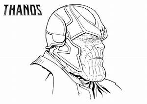 Thanos39s Face Coloring Page Free Printable Coloring Pages For Kids