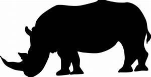 Rhino Silhouette | www.imgkid.com - The Image Kid Has It!