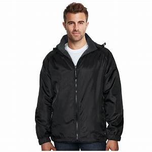 Maximos Men's Lax Reversible Water Resistant Hooded Jacket ...