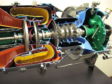 Pratt & Whitney PT6 Engine Cutaway of a Mainstay Available ...