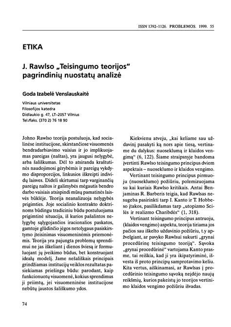 (PDF) J. Rawlso