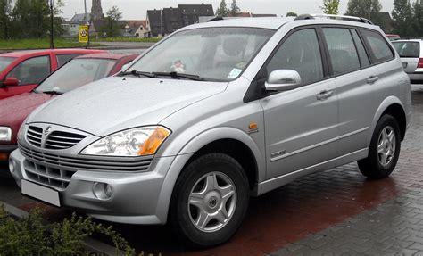 Ssangyong Kyron Reviews - Ssangyong Kyron Car Reviews