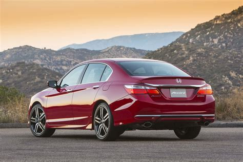 2017 Honda Accord Adds Valueoriented Sport Special