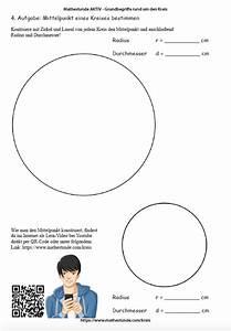 Mittelpunkt Kreis Berechnen : arbeitsbl tter kreis kreis umfang fl cheninhalt berechnen ~ Themetempest.com Abrechnung