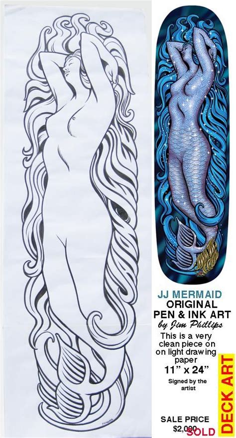 jason jessee mermaid deck pin by jc b on skateboard stuff