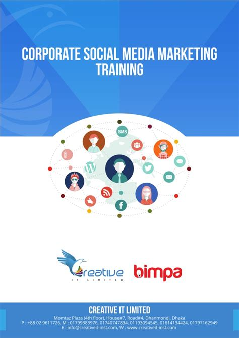 Social Media And Marketing Course by Corporate Social Media Marketing Smm Course Outline By