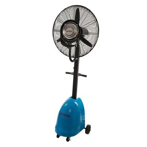 Industrial Misting Pedestal Fan Pure Ventilation