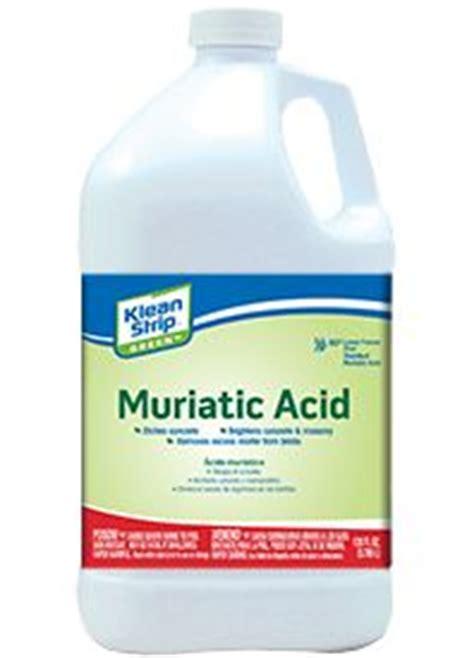 klean strip klean strip green muriatic acid
