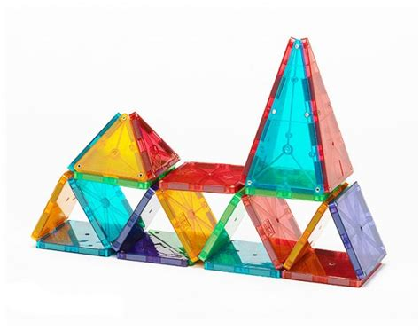 magna tiles clearance magna tiles 174 clear colors 32 set magnatiles 174