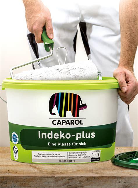 caparol wandfarbe indeko plus caparol offizieller markenauftritt