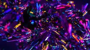 Colorful, Crystals, Abstract, 4k, Wallpapers