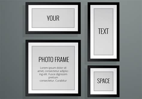 But the general sense is that at loonapix you may choose a photo frame for any occassions and tastes and. Realistic Photo Frame Vectors - Download Free Vectors ...