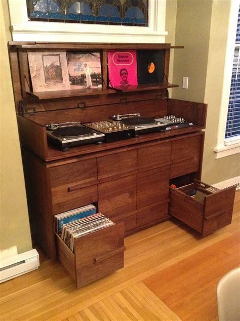 Custom Audio Minimalis custom made sorenson record cabinet sounds of